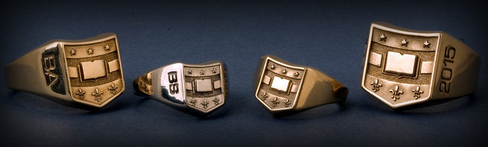 examples of Washington University class rings