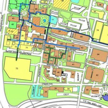 Thumbnail of WashU Medical Campus Map