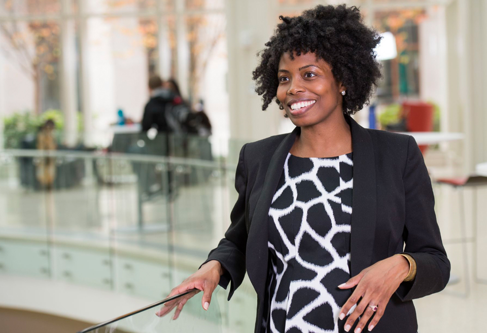 Demonstrating strength and courage, graduate completes two degrees and looks for answers on Ferguson Commission
