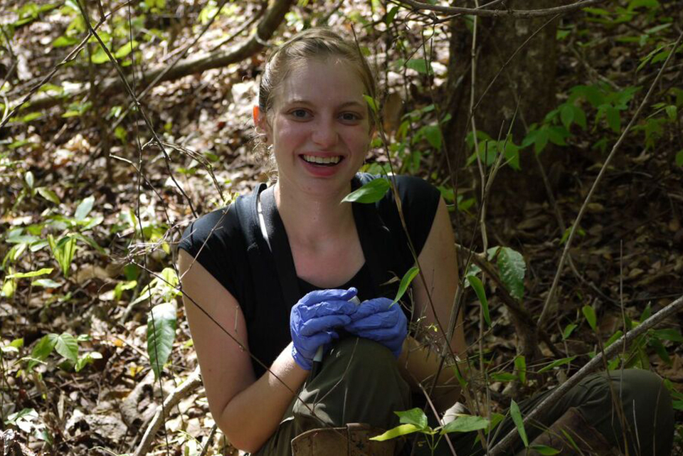 Searching for answers: WashU student traveled to Zambia to research Kinda baboons