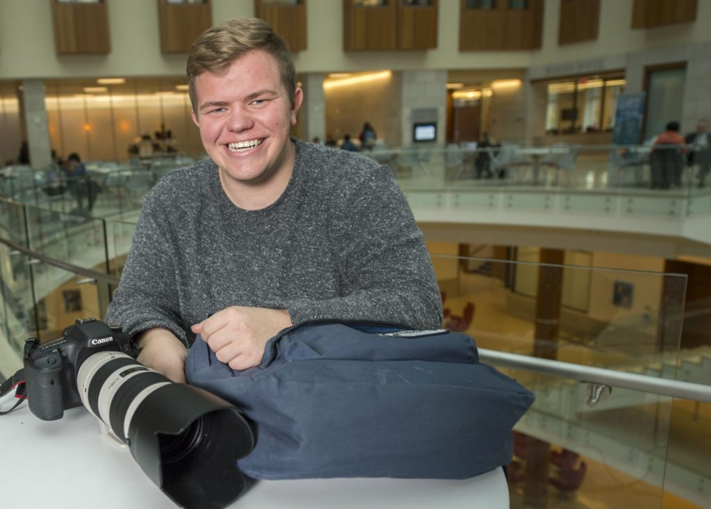 Photo editor sees university through a different lens
